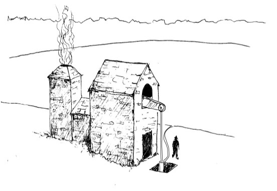 Drawing: Clintsfield engine house