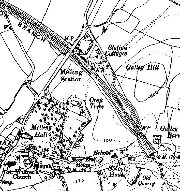 Tatham Area Railway Stations 1845 1914